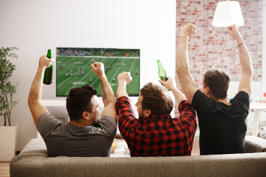 The Perfect Media Room Setup for the Big Game & Every Game