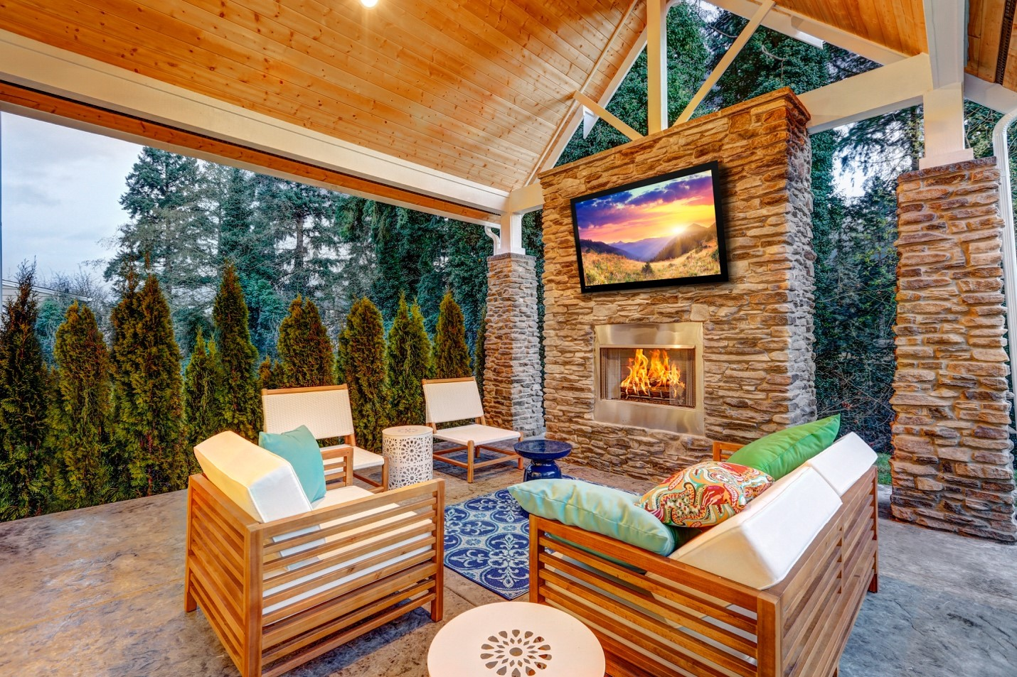 Looking For An Outdoor TV? Here's What You'll Want to Know.