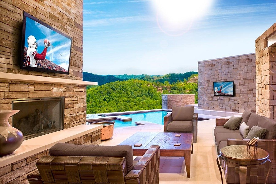 The Newest, Best TVs and Speakers for More Outdoor Fun